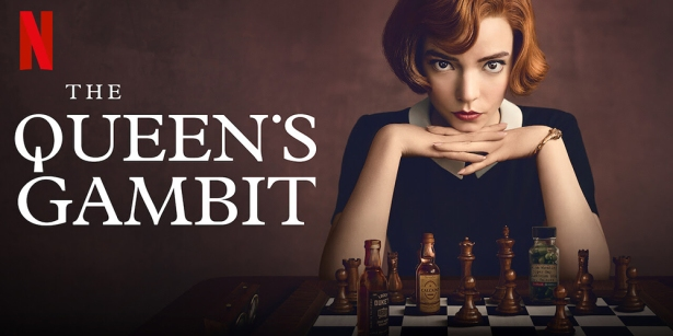 The Queen's Gambit Netflix Banner