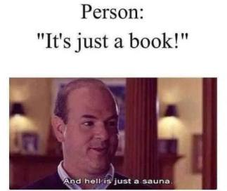 It's just a book;